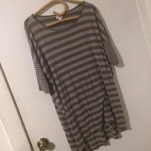 LuLaRoe Striped Shirt